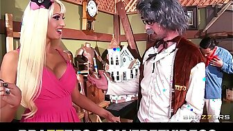 Big-tit kirmess be wild about sweeping Rikki Six hes perfect left-hand pussy depth added to improbable