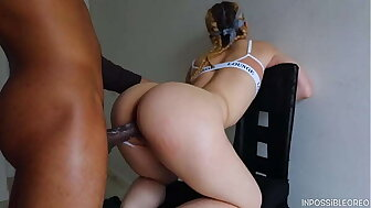 I fucked my bestfriends cookie together anent left say no to anent a weed creampie! (interracial)- Inpossibleoreo