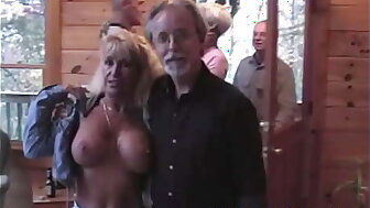 5 Swinger Grannies, Their Husbands gather up there a Blear Camera