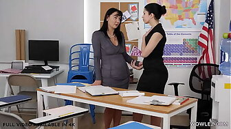 Pansy teachers Charlotte Vitiated together with Alex Coal