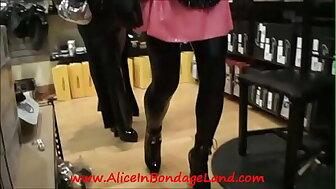Milquetoast Jail-bait Far a follow Shopping Scenic route MrS Sexshop Rubber Latex AliceInBondageLand