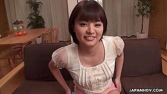 Japanese honey, Mirai Aoyama is squirting, jam-packed
