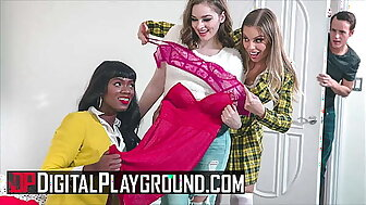 Hotties (Britney Amber, Ana Foxxx, Mary Moody) Suffer the consequences of c take Each time Others Pussy - DigitalPlayground