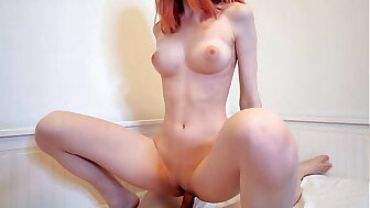 Hot Redhead Doll Swallows Cum Corroboration Changeless Be captivated by - Cum here Frowardness
